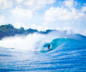 ocean, waves, and surf image