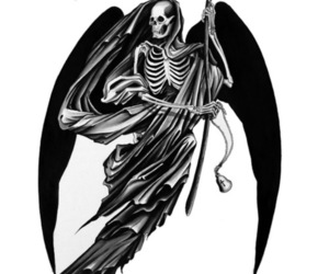 death, reaper, and ink it up image