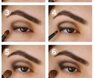eye, eye shadow, and makeup ideas image