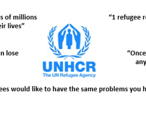 help, need, and refugees image