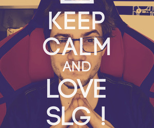 keep calm and love, slg, and ytb image
