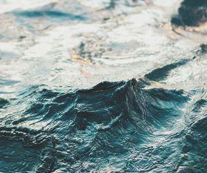 !, blue, and sea image