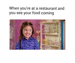 funny, food, and restaurant image