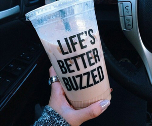 drink, coffee, and life image