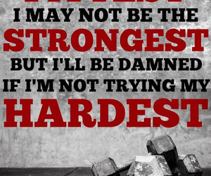 fitness and quote image