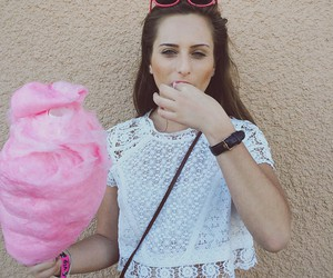 cotton candy, lace, and fashion image