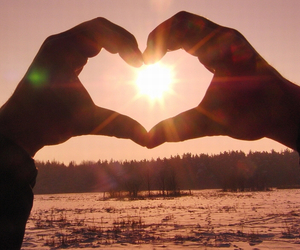 heart and sun image