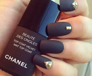 black, chanel, and matte image