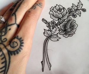 tattoo, drawing, and hannah snowdon image