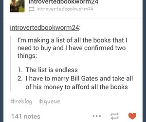 books, funny, and tumbler image