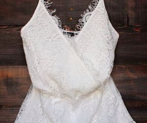 white, lace, and style image
