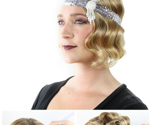 gatsby, hair, and tutorial image