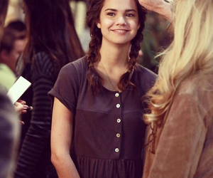 actress, braid, and pretty image