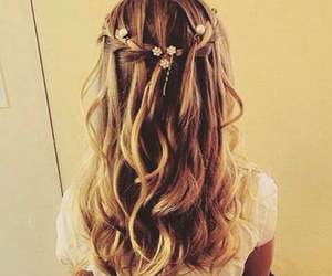 hairstyle, girl, and hair image