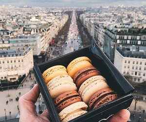 city, food, and paris image