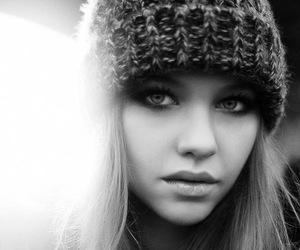 black & white, fashion, and style image