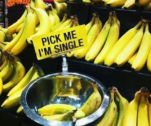 banana, single, and fruit image