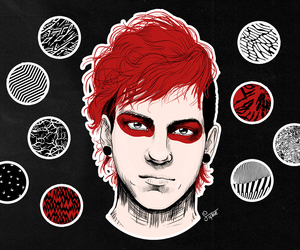 drawing, 21p, and blurryface image