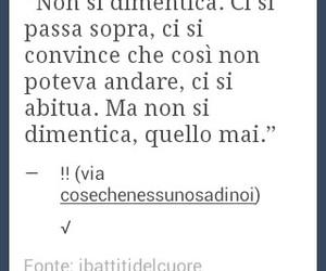 mai, dimenticare, and frasi italiane image