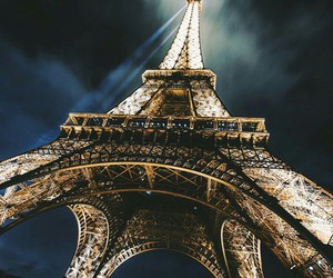 paris, eiffel tower, and france image