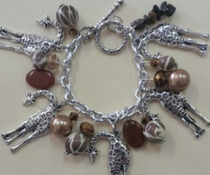 safari charm bracelet image