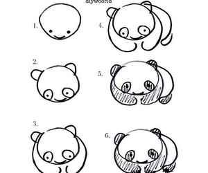draw and panda image