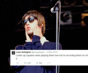 liam gallagher, oasis, and rock image