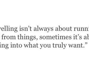 away, quote, and running image