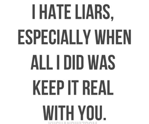 Liars, quotes, and real image