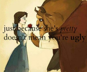 beautiful, beauty and the beast, and disney image