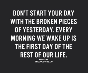 today, quotes about life, and yesterday image