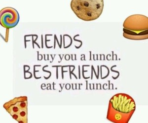 eat, food, and bestfriends image