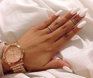 fashion, nails, and girly image