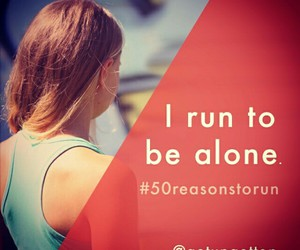 motivation, quote, and running image