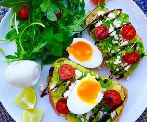 fit, fitness, and good food image