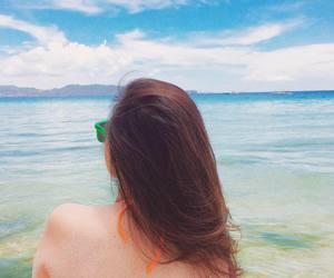 asian, summer, and beach image
