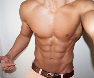 abs, casual, and chest image