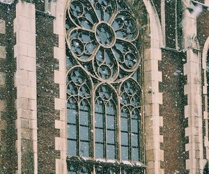 architecture, lviv, and snow image