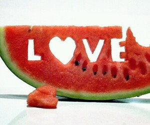 fruit, summer, and love image