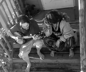 banjo, couples, and dreads image