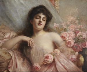 beautiful, pink, and belle epoque image