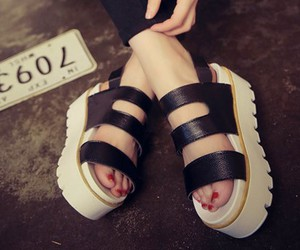 platforms, shoes, and cute image