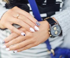 fashion, nails, and white image