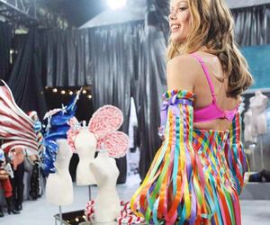 fashion show, model, and Victoria's Secret image