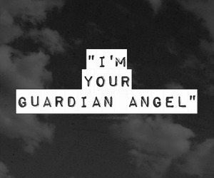 guardian angel and music image