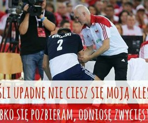 Poland, quote, and volleyball image