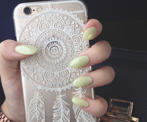 beautiful, nails, and iphone 6 image