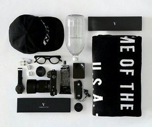 beauty, glasses, and cap image