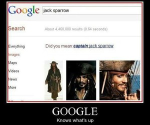 johnny depp, captain jack sparrow, and yup. image