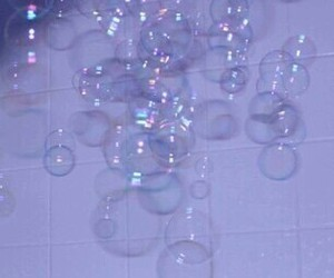bubbles, grunge, and aesthetic image